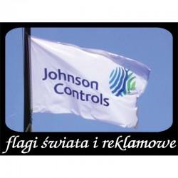 Flaga firmowa reklamowa 300x100 cm