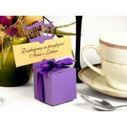 20 szt. - Podziękowania dla gości - pudełeczka na słodkości - MODEL 0087B
