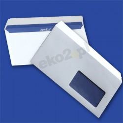Koperty DL SUPER MAIL (110 x 220 mm) /HK/ - okno prawe 45x90mm