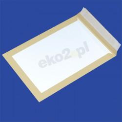 Koperty CARD PACK z tylną stroną z kartonu - C-4 HK brąz