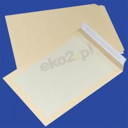 Koperty CARD PACK z tylną stroną z kartonu - B-4 HK brąz
