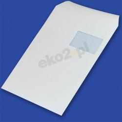 Koperty C4 (229 x 324 mm) /SK/ biała 90g, okno prawa góra 55x90mm