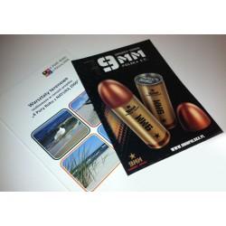 TECZKI OFERTOWE z grzbietem 5 mm + FOLIA - cennik