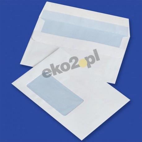 Koperty C6 (114 x 162 mm) /SK/ - okienko 45 x 90 mm lewy dół