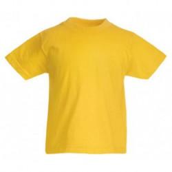 FotL Kids Valueweight 165g - CIEMNO ŻÓŁTA (34) - koszulka dziecięca (61-033) z dowolnym nadrukiem