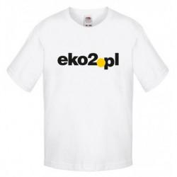 FotL Kids Sofspun 165g - BIAŁA (30) - koszulka dziecięca (61-015) z dowolnym nadrukiem