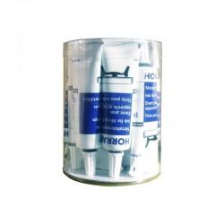 TUSZ DO STEMPLI METALOWYCH H18 OPAKOWANIE (12 szt. X 15 ml) CZARNY